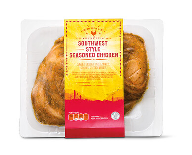 Southwest Style Seasoned Chicken Breast