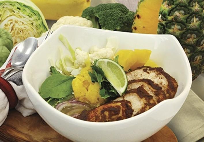 Jerk Chicken Broth Bowl
