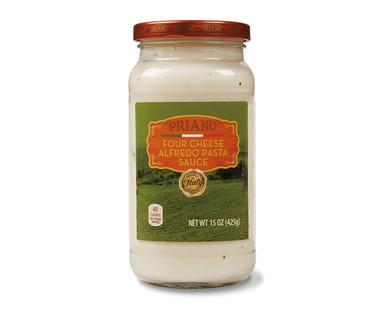 Priano Four Cheese Alfredo Pasta Sauce