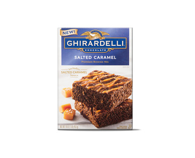 Ghirardelli Salted Caramel Brownie Mix View 1