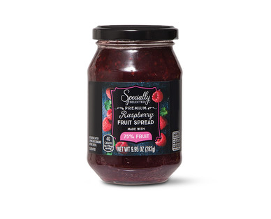 Specially Selected Raspberry Fruit Spread  Made With 75% Fruit
