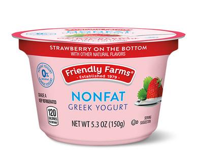 Friendly Farms Strawberry Nonfat Greek Yogurt