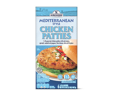 Kirkwood Mediterranean Chicken Patties