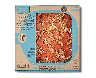 Mama Cozzi's Pizza Kitchen Sausage & Pepperoni Deli Pizza