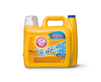 Arm & Hammer Plus OxiClean Fresh Scent Laundry Detergent