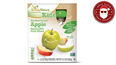 Simply Nature Unsweetened Apple Fruit Squeezies. View Details.