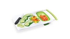 Crofton Over-the-Sink Cutting Board With Strainer