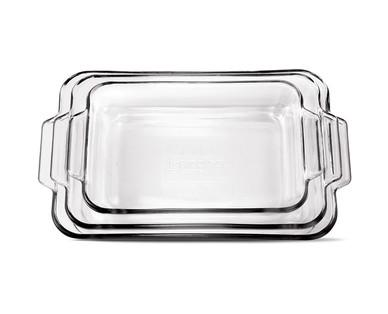 Crofton 3-Piece Glass Baking Dish Set View 2