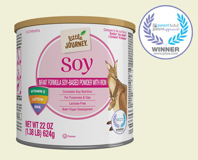Little Journey Soy Based Baby Formula