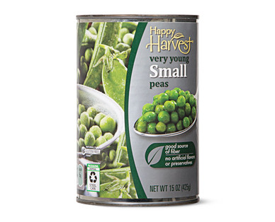 Happy Harvest Small Peas