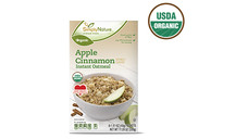 Simply Nature Organic Apple Cinnamon Instant Oatmeal. View Details.