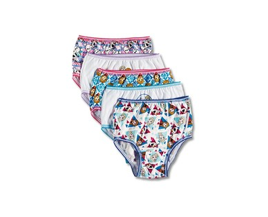 Toddler Boys' 8 Pack or Girls' 10 Pack Character Underwear View 1