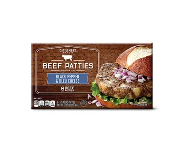 Cattlemen's Ranch Mushroom and Swiss or Black and Bleu Burgers View 2