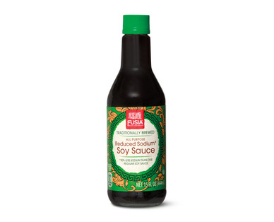 Fusia Traditionally Brewed Reduced Sodium Soy Sauce