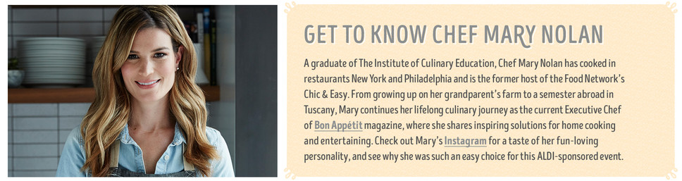 Get To Know Chef Mary Nolan