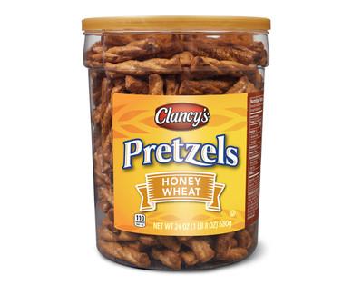 Clancy's Honey Wheat Pretzels