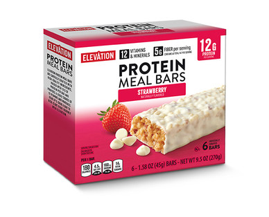 Elevation by Millville Strawberry Protein Meal Bars