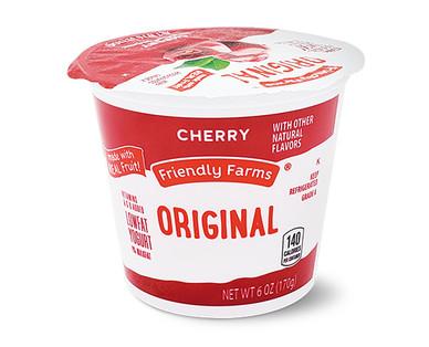 Friendly Farms Lowfat Cherry Yogurt