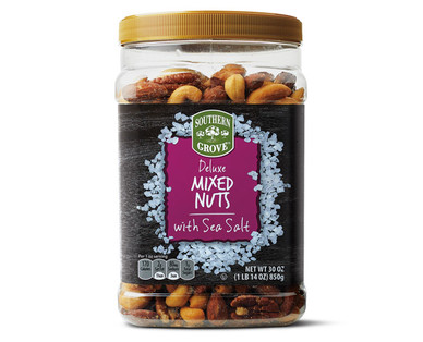 Southern Grove Deluxe Mixed Nuts with Sea Salt