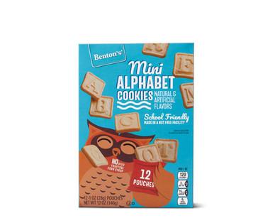 Benton's Mini Alphabet Cookies