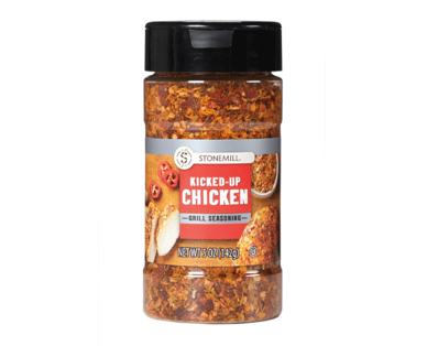 Stonemill Kicked-Up Chicken Grill Seasoning
