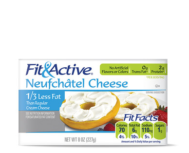 Fit and Active Neufchatel Cheese
