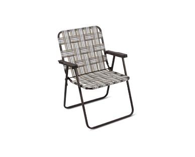 Gardenline Folding Web Chair View 1
