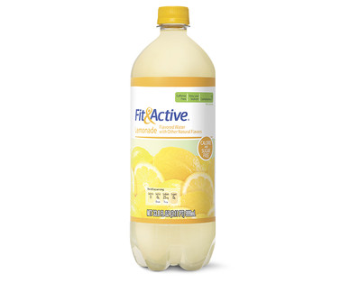 Fit and Active Lemonade Flavored Water