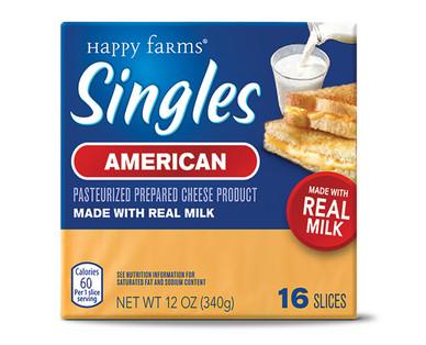 Happy Farms American Cheese Singles