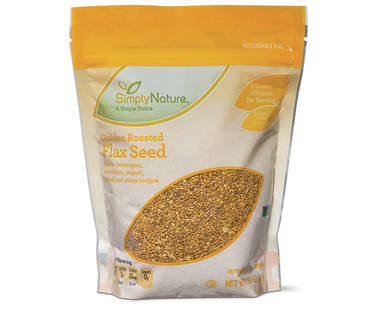 SimplyNature Golden Roasted Flax Seed