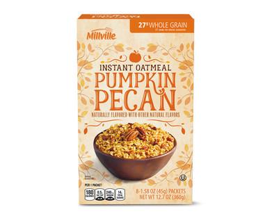 Millville Pumpkin Pecan Instant Oatmeal