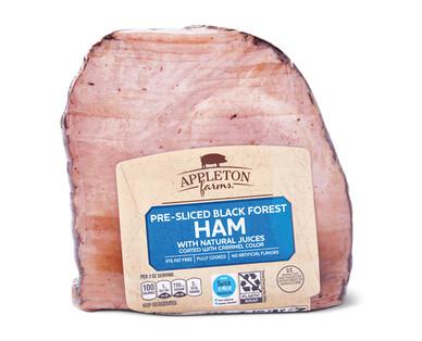 Appleton Farms Quarter Boneless Black Forest Sliced Ham