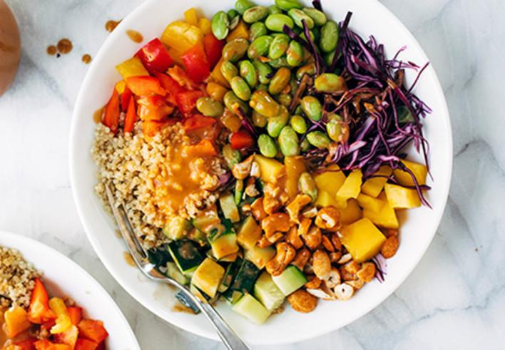 Quinoa Crunch Salad