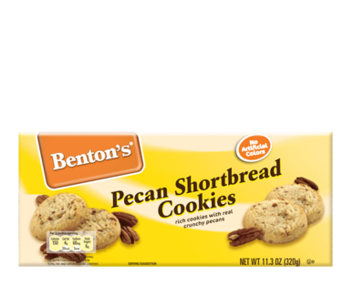 Benton's Pecan Shortbread Cookies