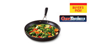 "Crofton Chef's Collection 12"" Hard Anodized Fry Pan or Round Grill Pan"