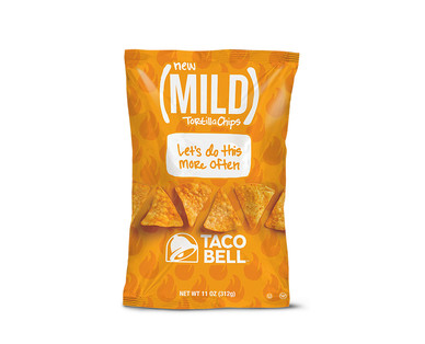 Taco Bell Mild or Fire Tortilla Chips View 1