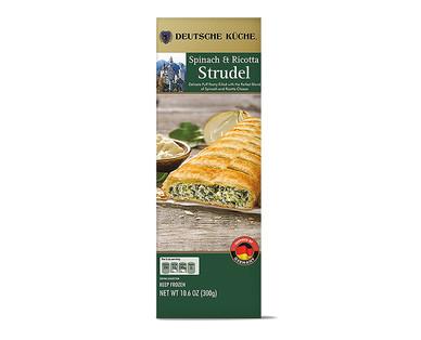 Deutsche Küche Spinach & Ricotta or Artichoke & Cheese Savory Strudels View 1