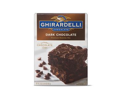 Ghiradelli Dark Chocolate Brownie Mix View 1