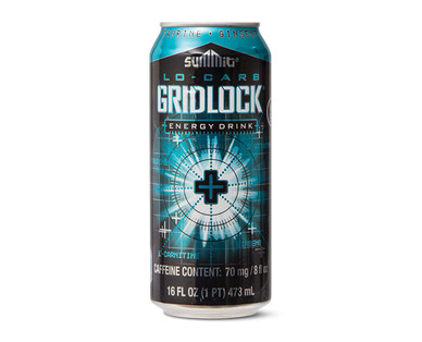 Summit Gridlock Lo-Carb Energy Drink