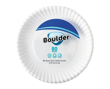 Boulder Heavy Duty Coated Paper Plates