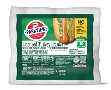 Parkview Uncured Turkey Franks