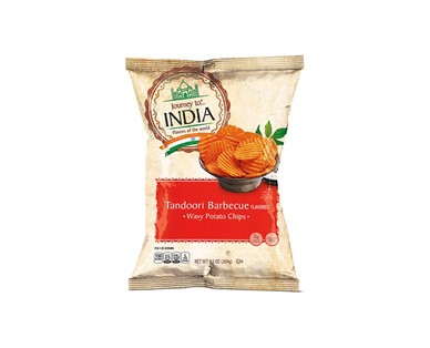 Journey to... India and Thailand Tandoori Barbecue or Thai Curry Potato Chips View 1