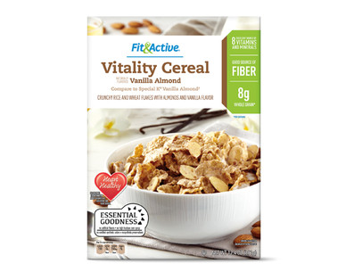 Fit & Active® Vitality Cereal Vanilla Almond