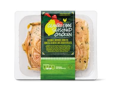 Cilantro Lime Seasoned Chicken Breast