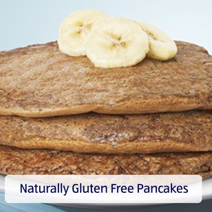 Naturally Gluten Free Pancakes. View recipe.