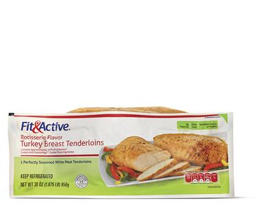 Fit and Active Rotisserie Flavor Turkey Tenderloin