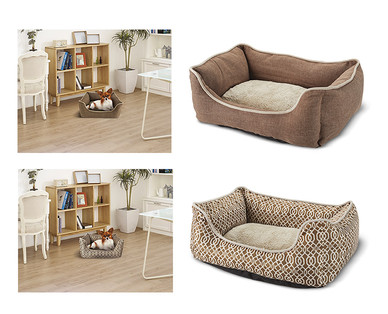 Heart to Tail Round or Rectangle Small Pet Bed View 3