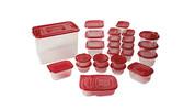 Crofton 50-Piece Assorted Food Storage