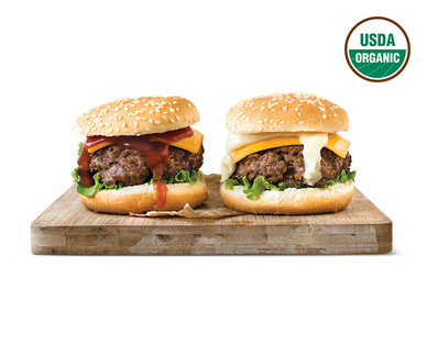 SimplyNature Fresh Family Pack Organic Grass Fed 85% Lean Ground Beef