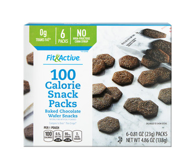 Fit & Active® 100 Calorie Chocolate Snack Packs